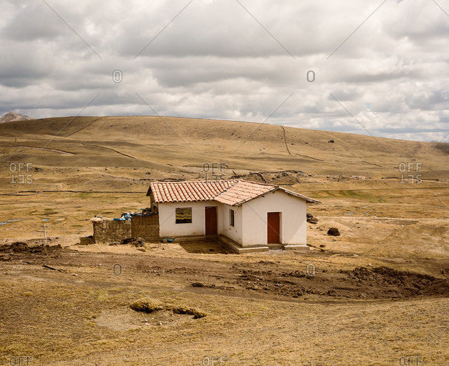 Home in the Andes Mountains of Peru