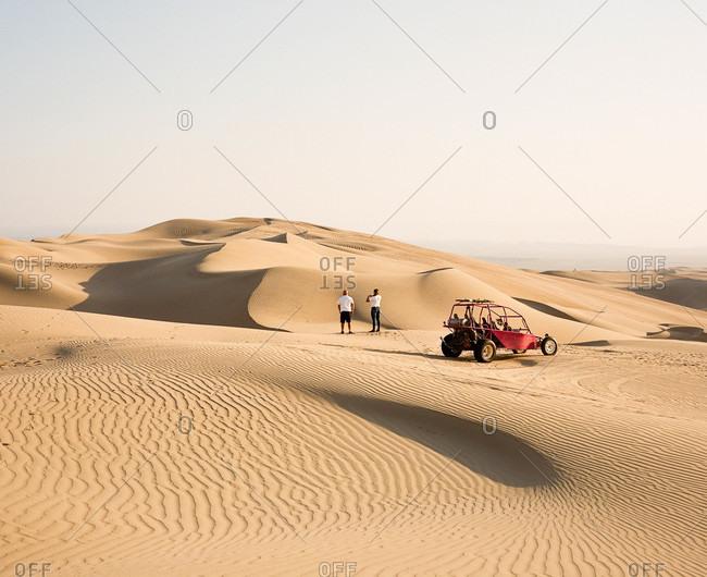 Dune buggy tour in Paracas Reserve in Inca, Peru