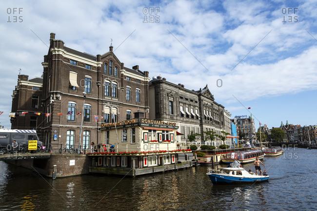 Amsterdam, Netherlands - September 7, 2012: Allard Pierson Museum