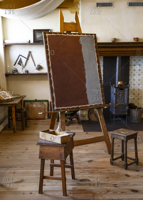 Amsterdam, Netherlands - September 6, 2012: Rembrandt House museum, the studio where Rembrandt used to work