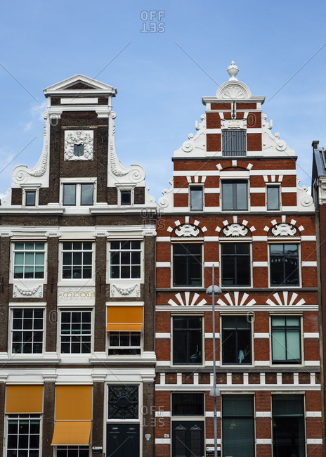 Old buildings in Amsterdam, Holland, Netherlands