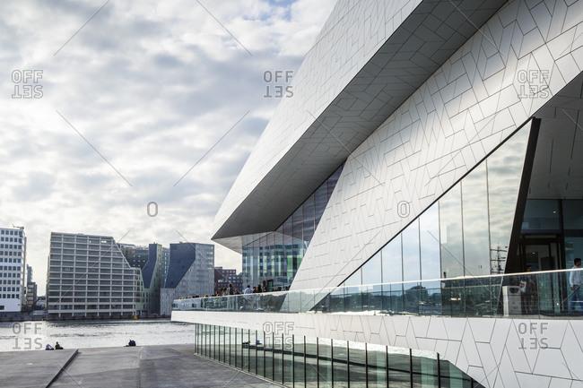 """Amsterdam, Netherlands - September 10, 2012: The """"EYE"""" Film Institute, Amsterdam, Holland"""