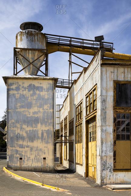 Historic shipyard in California