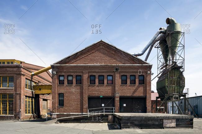 Historic shipyard, Vallejo, California