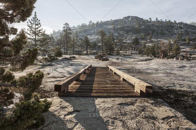 Walkway in Yosemite National Park