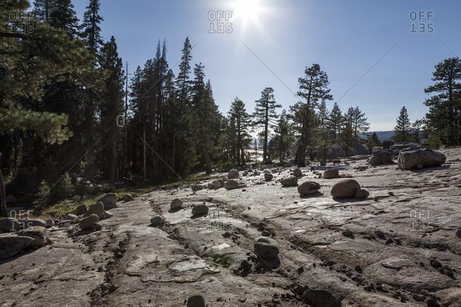 Sword Lake in Yosemite National Park
