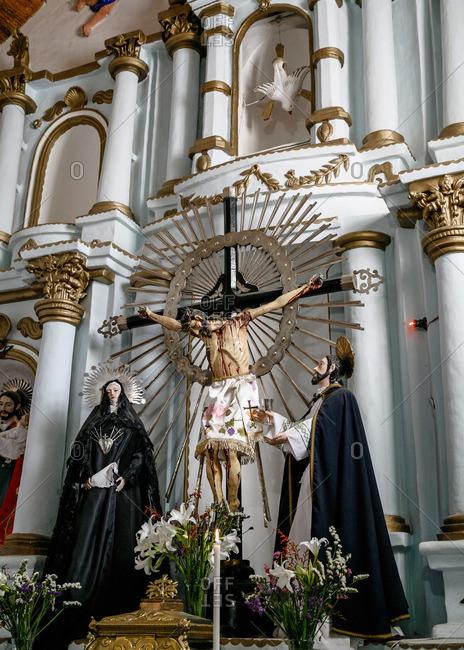 Cachi, Salta Province, Argentina - January 4, 2012: San Jose de Cachi church