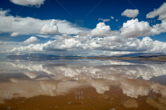 Salinas Grandes in Jujuy Province, Argentina.