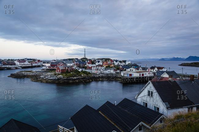 Henningsvaer village, Lofoten Islands, Norway