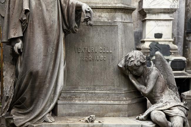 Buenos Aires, Argentina - January 15, 2012: Cementerio de la Recoleta or Recoleta Cemetery
