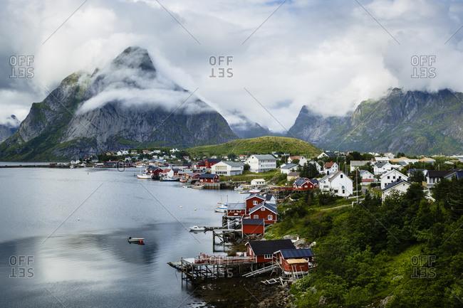 View over Reine, Lofoten Islands, Norway