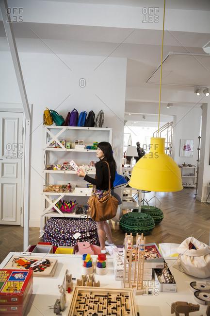 Copenhagen, Denmark - August 13, 2012: Hay House store in Copenhagen, Denmark