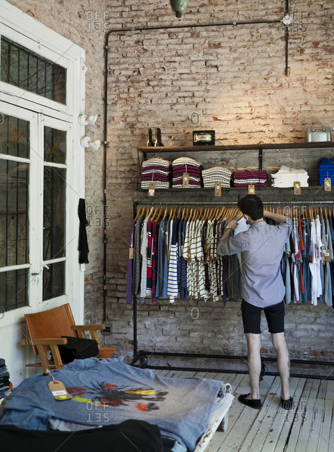 "Buenos Aires, Argentina - February 14, 2012: The trendy ""Felix"" fashion store in Palermo Soho"