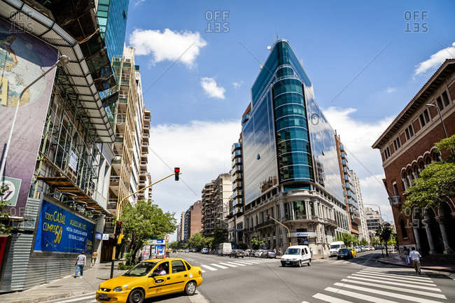 Cordoba City, Argentina - February 13, 2012: Modern Architecture in Cordoba City Argentina