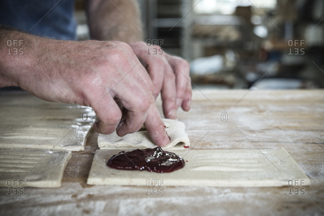 Baker at work in Ithaca