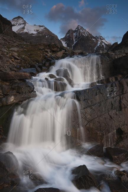 Victoria Cascade, Yoho National Park, Canada