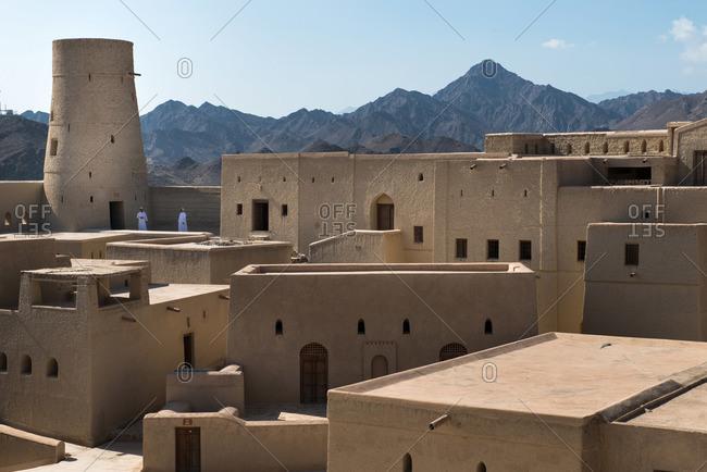 Bahla, Oman - February 5, 2015: Bahla Fort, Bahla, Oman