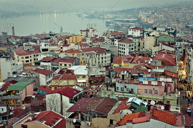 Latin American dense city
