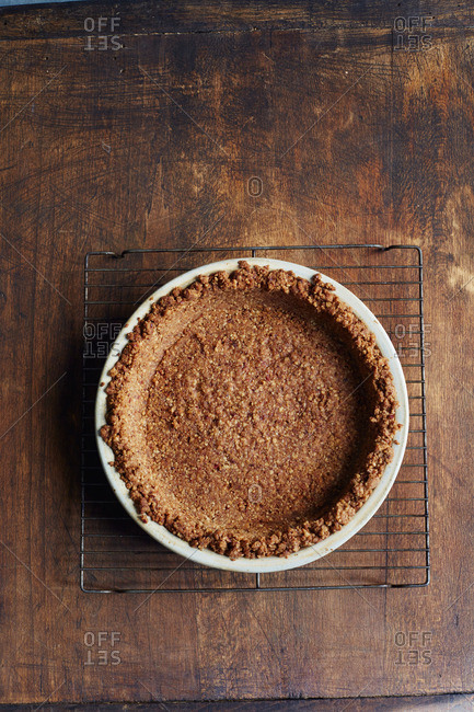 Sweet potato pie crust