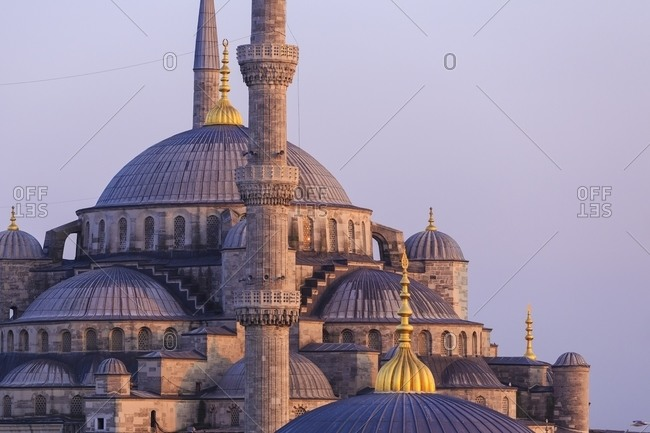 Sultan Ahmed Mosque - The Blue Mosque in Istanbul, Turkey
