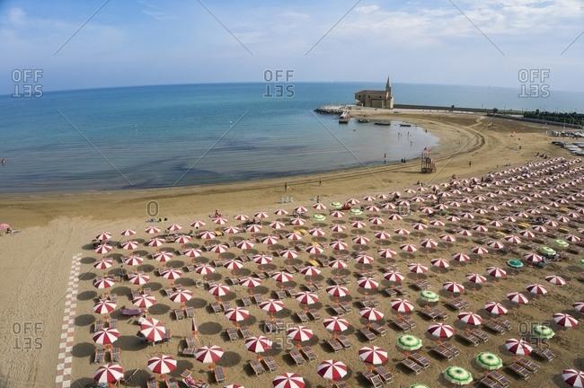 Caorle beach, Venice, Italy