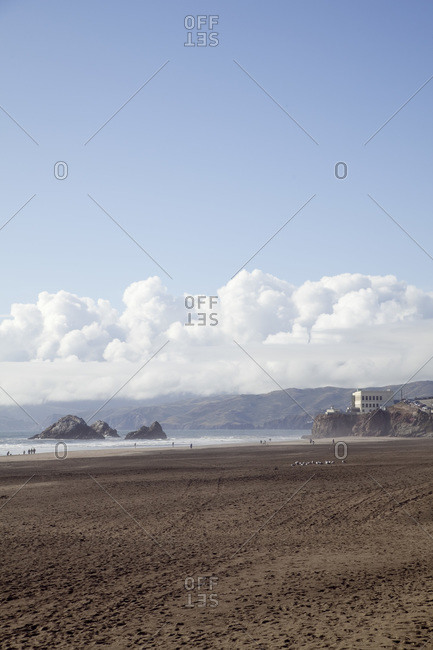 Beach in Marin County, California