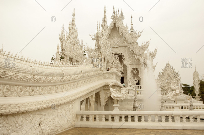 Artistic temple in Thailand