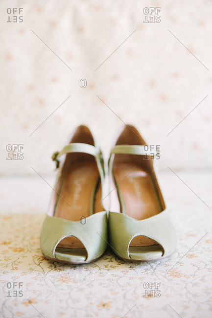 Two wedge heel shoes