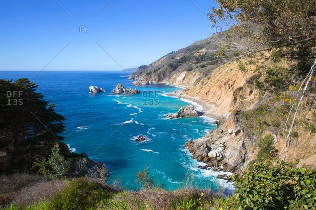 Coastline near Big Sur, California, USA