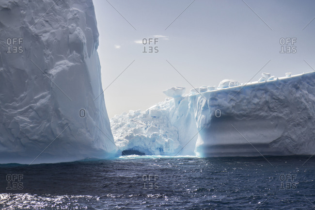 Icebergs in Antarctica - Offset Collection