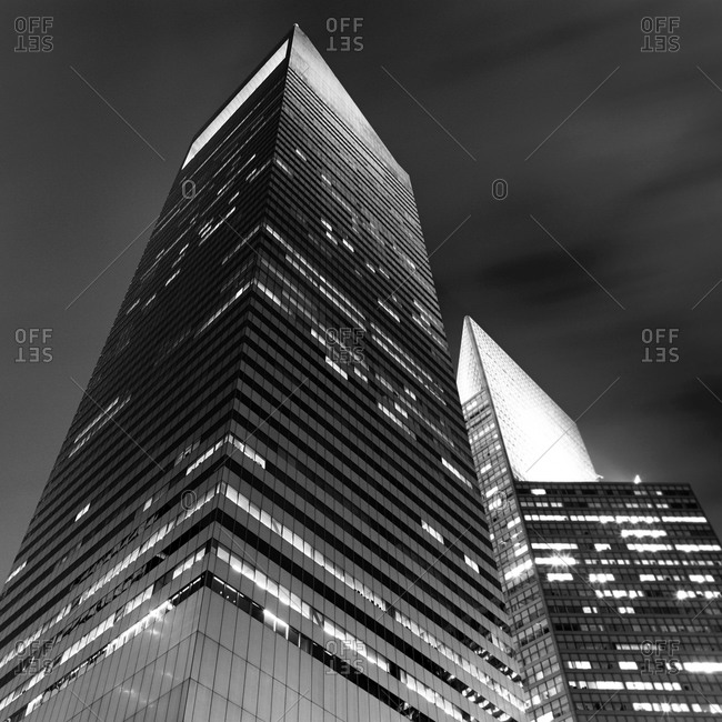New York City - January 19, 2011: Looking up at 601 Lexington Avenue