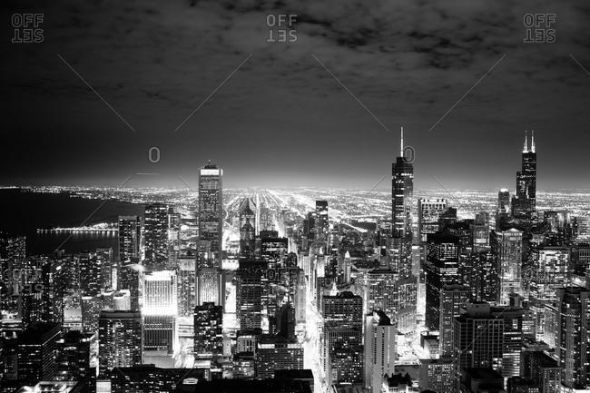 Cityscape of Chicago, Illinois