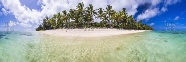 Beachfront at Royale Takitumu Luxury Villas, Titikaveka, Rarotonga, Cook Islands, South Pacific Ocean