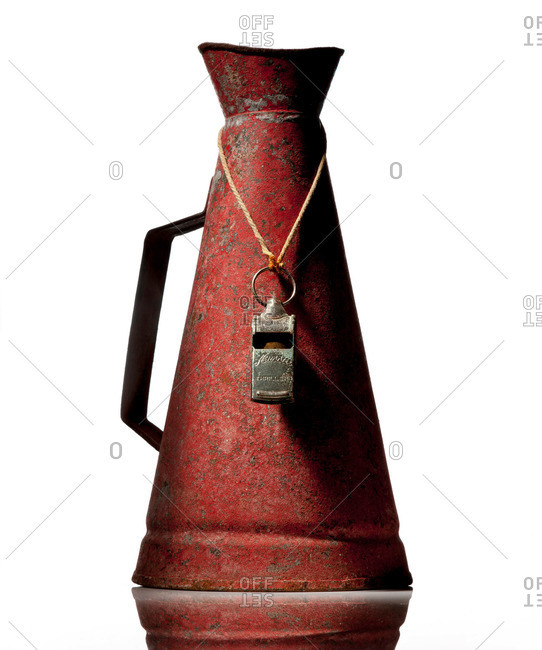 An old megaphone and whistle