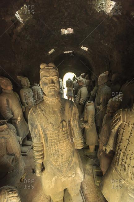 Terra-Cotta Warrior's Factory, Xi'an, China