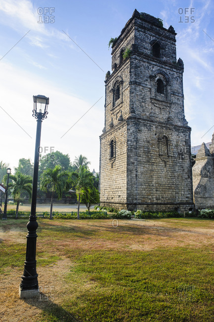 Colonial church Paoay, Northern Luzon, Philippines