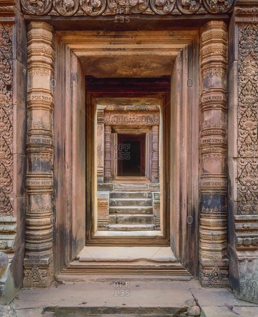 Angkor Wat Entryway, Cambodia