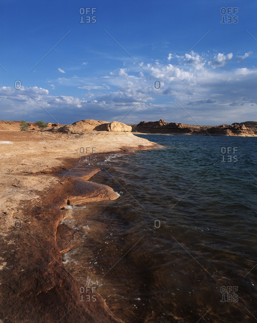 View of Lake Powell at Glen Canyon National Recreation Area