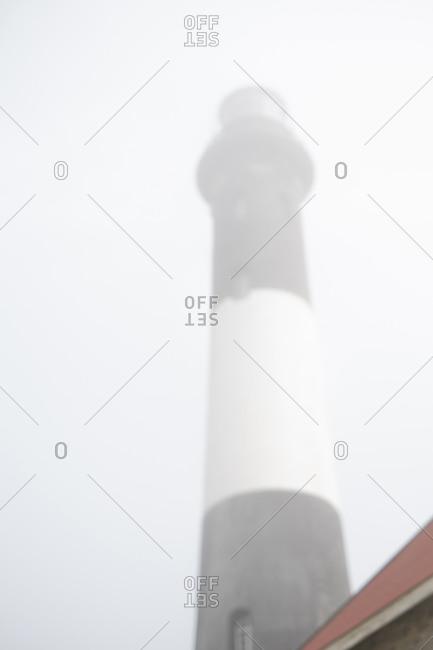 Fire Island, New York Fire Island Lighthouse in the fog