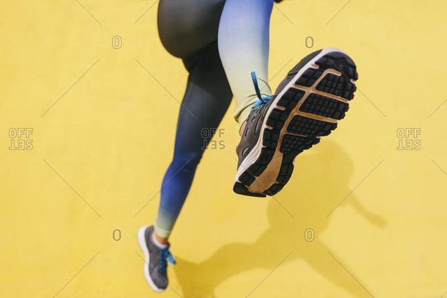 Closeup of sole of shoe