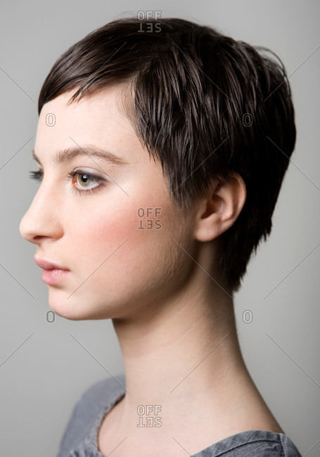 Portrait of a Scandinavian woman
