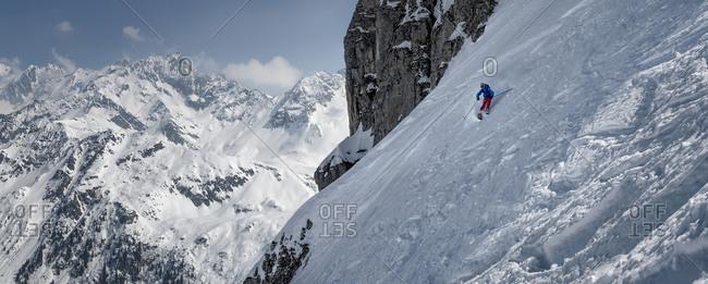 Ski mountaineering, Les Contamines,