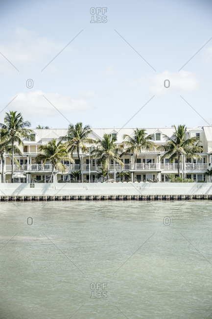 Houses by the sea, Key West, Florida