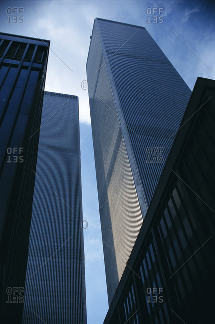 The original World Trade Center in New York City