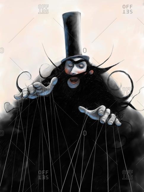 An evil puppet master