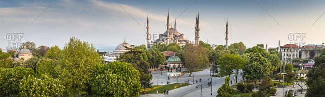 View of Haghia Sophia in Istanbul, Turkey