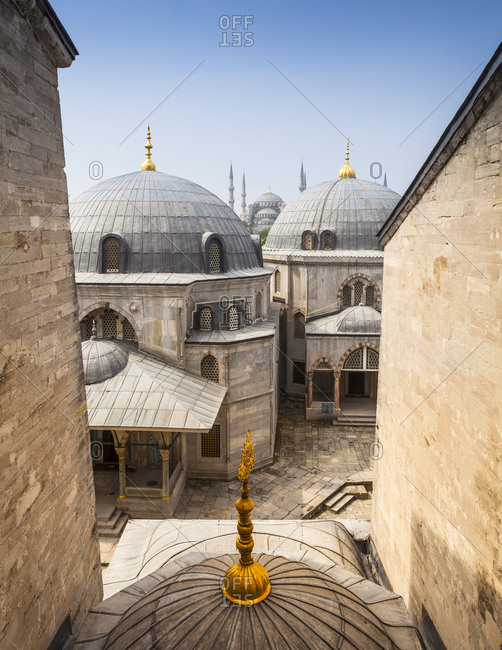 Haghia Sophia and Sultan Ahmed Mosque in Istanbul, Turkey