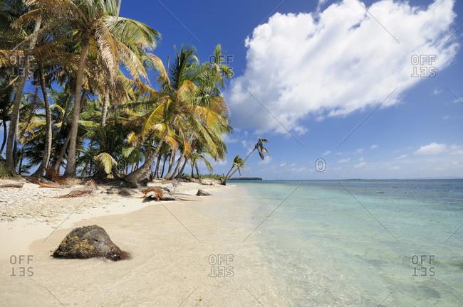 San Blas Islands, Cayos Los Grullos in Panama