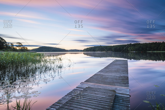 Jetty at dusk - Offset Collection