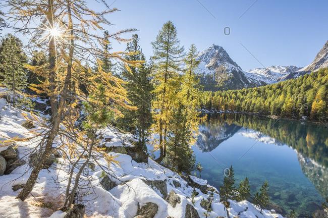 Lake Saoseo, Poschiavo Valley, Switzerland